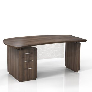 Sterling Peninsula Desk by Mayline Group Cool