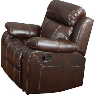 Darby Home Co Chestnut Manual Glider Recliner