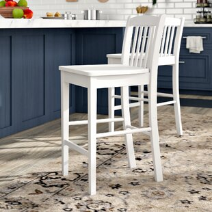 Meidinger Counter Height 24 Bar Stool (Set of 2) by Alcott Hill