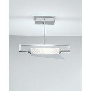 Glim Mini 1-Light Semi Flush Mount by ZANEEN design