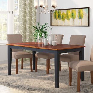 Haris Foldable Dining Table by Alcott Hill