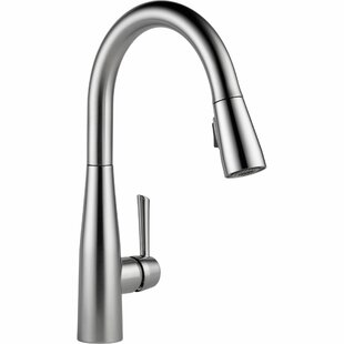 Review Essa Pull Down Touch Single Handle Kitchen Faucet with MagnaTite Docking and Diamond Seal Technology by Delta