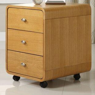Sunterra 3-Drawer Filing Cabinet By George Oliver