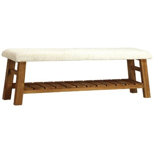 Jung Upholstered Bench by Alcott Hill