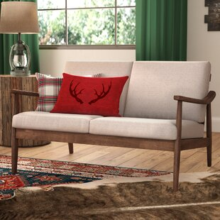 Kellner Mid-Century Modern Loveseat by Union Rustic Today Sale Only