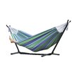 striped hammock with stand