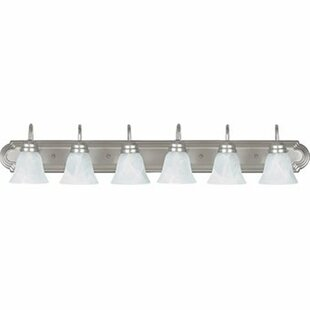 Compare & Buy Nevaeh 6-Light Vanity Light By Radionic Hi Tech