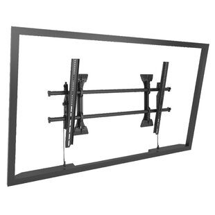 Extra Large Fusion Micro-Adjustable Tilt Wall Mount for Greater than 50 inch  Flat Panel Screens