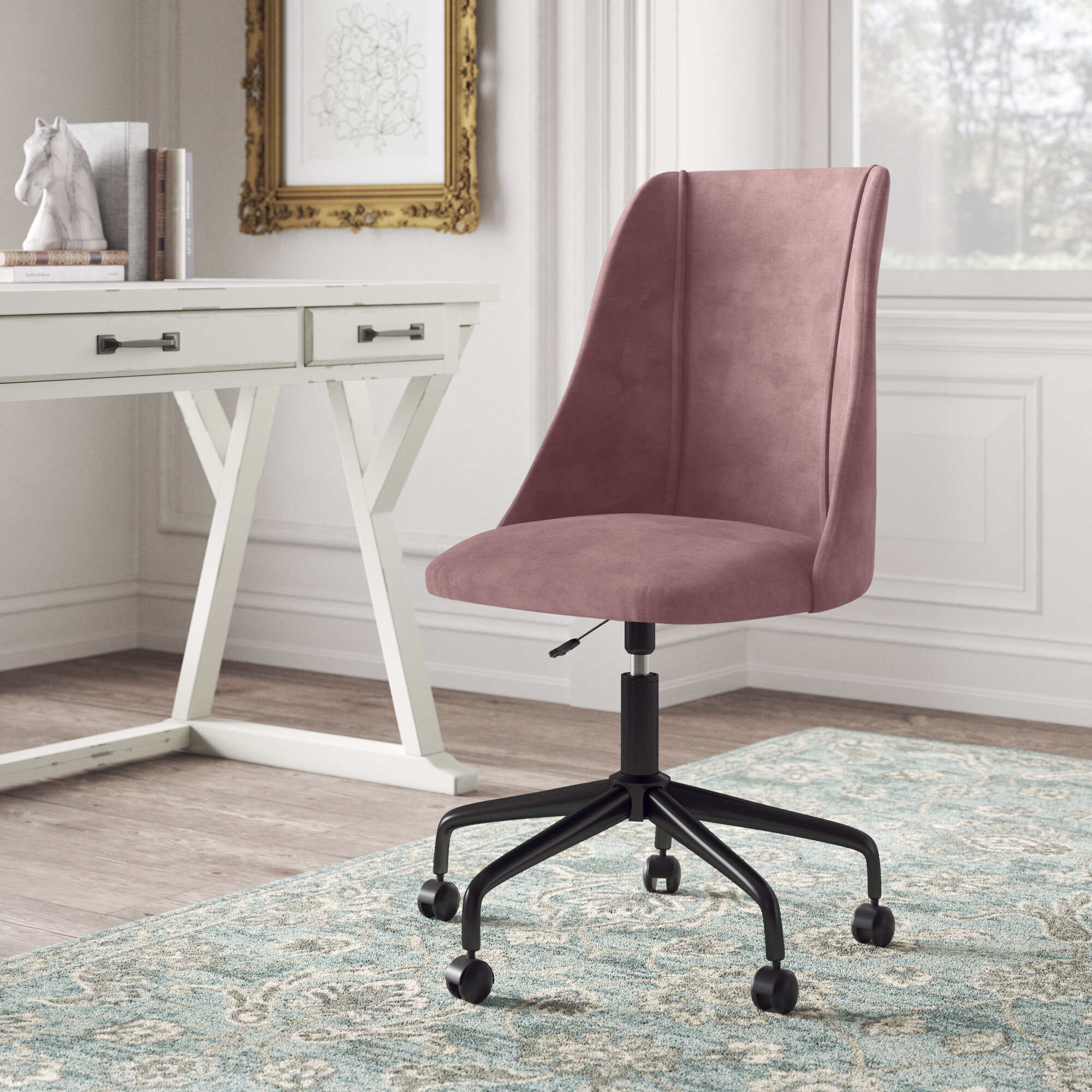 Picture of: Pink Office Chairs You Ll Love In 2020 Wayfair