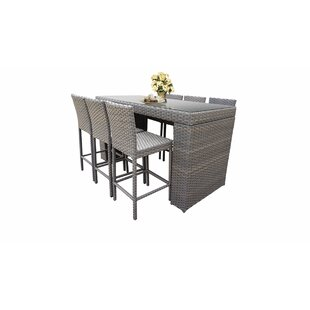 Everton 7 Piece Bar Height Dining Set