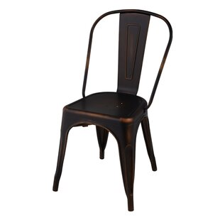 Williston Forge Astin Industrial Tolix Dining Chair