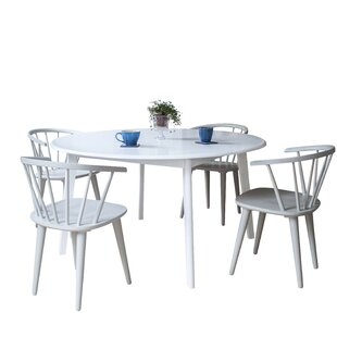 Review Farmington Dining Set With 4 Chairs