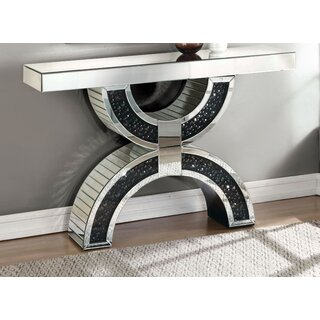 "Rae 47"" Console Table by Rosdorf Park SKU:AB435039 Details"