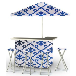 9 Piece Patio Bar Set by Best of Times