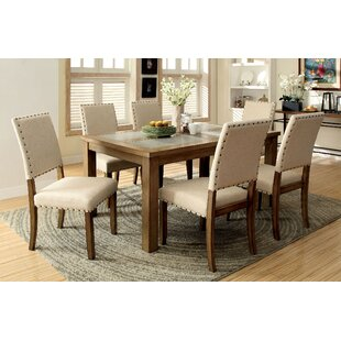 Rosana 7 Piece Breakfast Nook Dining Set