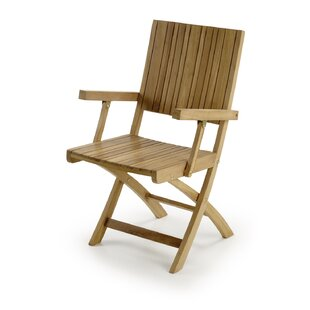 Review Lucky Folding Dining Arm Chair