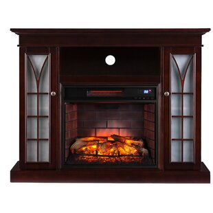 Shelton Media Infrared TV Stand with Fireplace by Wildon Home®