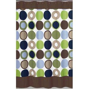 Designer Dot Shower Curtain