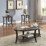 Eck 3 Piece Coffee Table Set by Darby Home Co