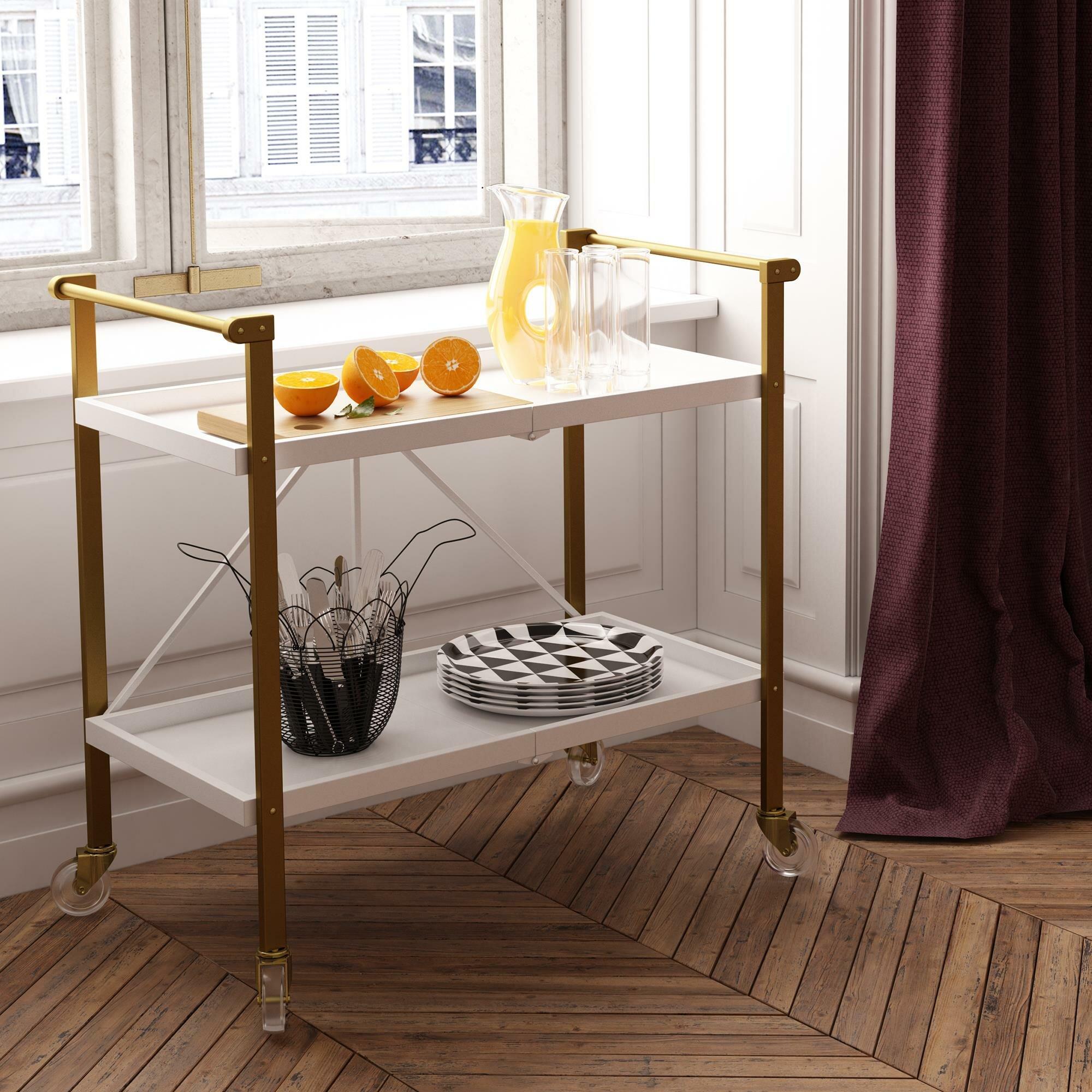Brass Bar Carts You Ll Love In 2021 Wayfair