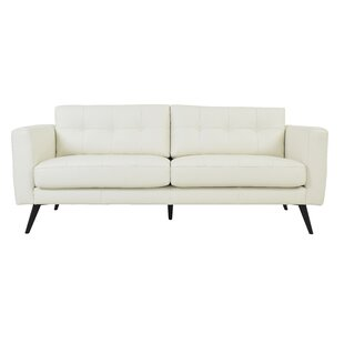 Gordon Leather Sofa by Corrigan Studio Savings