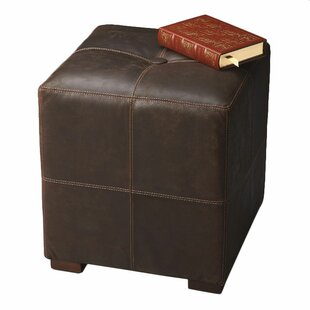 Port Lincoln Cube Ottoman by Union Rustic