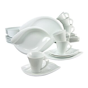 Acacia 30 Piece Dinnerware Set with Mug Service for 6  sc 1 st  Wayfair & Dinner Sets | Wayfair.co.uk