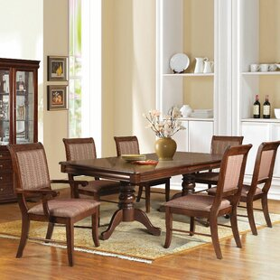 Poppy 7 Piece Dining Set Alcott Hill
