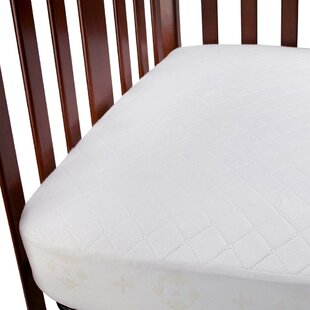 Waterproof Fitted Crib Mattress Pad (Set of 2)