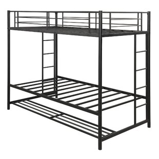 Schubert Twin over Twin Bunk Bed with Shelf