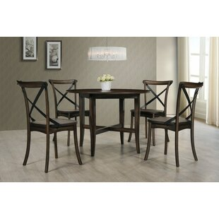 Aguon 5 Piece Dining Set by Three Posts 2019 Coupon