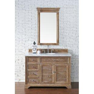 Osmond 48 Single Driftwood Bathroom Vanity Set by Greyleigh