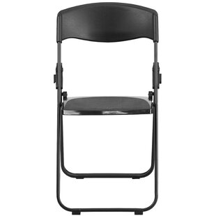 Etonnant Laduke Heavy Duty Plastic Folding Chair