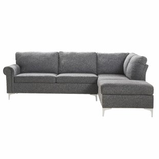 Sulligent Right Hand Facing Modular Sectional By Wrought Studio