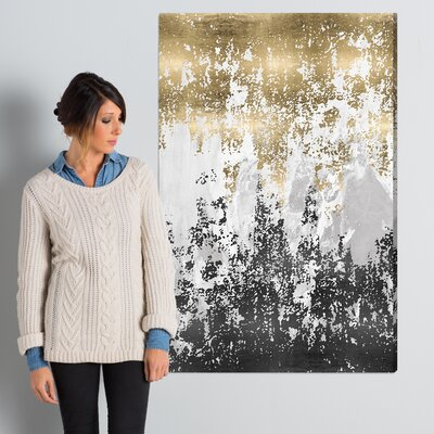 Wrought Studio 'Had a Moment' Painting Print on Wrapped Canvas Size: 45 H x 30 W x 1.5 D