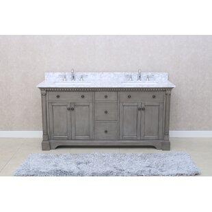Seadrift 73 Double Bathroom Vanity Set by Greyleigh