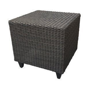 Vickey Wicker Side Table