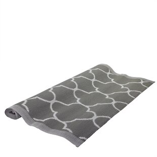 Find Basic Luxury Jet Black/White Outdoor Area Rug By Northlight Seasonal