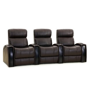 Home Theater Recliner (Row of 3) ByRed Barrel Studio