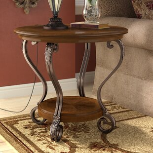 Curran End Table by Alcott Hill