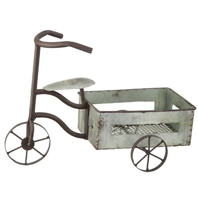 Metal Tricycle Plantstand Model Vehicle Darice