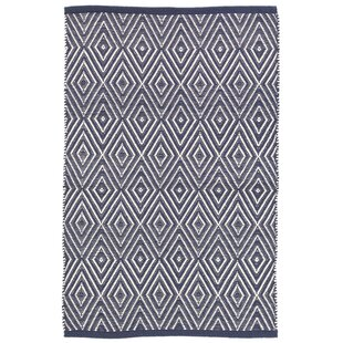 Diamond Navy/Ivory Indoor/Outdoor Area Rug