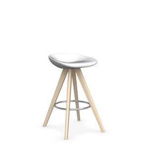 Palm W - Upholstered stool by Calligaris