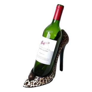 Griego Leopard Stiletto Shoe 1 Bottle Tab..
