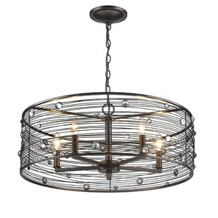 Online Reviews Kendra 5-Light Chandelier By Trent Austin Design