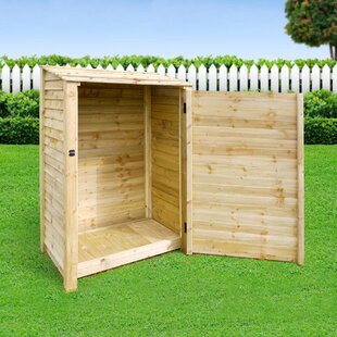 Strasburg 4 Ft. x 3 Ft. Log Store by Lynton Garden