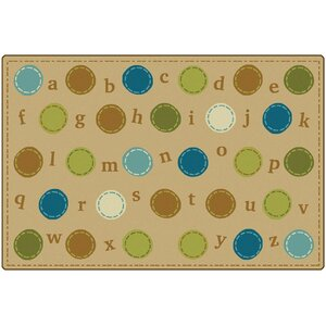 KIDSoftu2122 Alphabet Dots Playmat