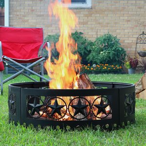 Steel Wood Fire Ring