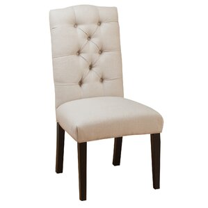 Tufted Linen Side Chairs (Set Of 2) Part 38