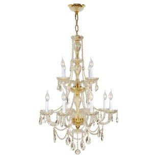 Astoria Grand Doggett 12-Light Chain Cand..